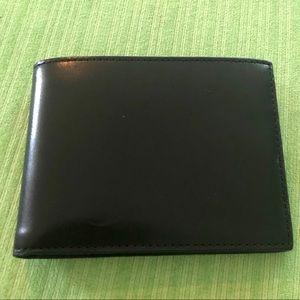 NWOT COACH 3-In-1 Men's Black Leather Wallet